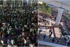 7 Potret penerapan lockdown yang berujung kekacauan di India