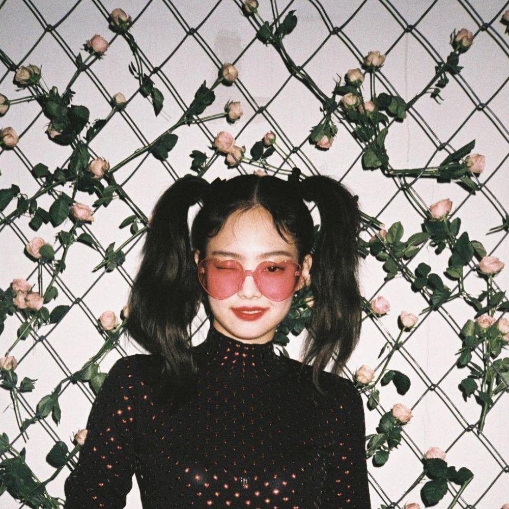 15 idol kpop rambut hitam Instagram