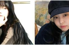 15 Gaya rambut hitam idol K-Pop ini keren abis, ada Lisa Blackpink