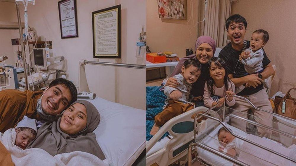 6 Potret seleb melahirkan © 2020 Instagram/@herfiza ; Instagram/@yuanitachrist