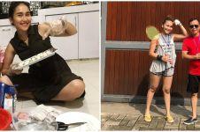 10 Aktivitas Ayu Ting Ting di rumah saja, gaya natural curi perhatian