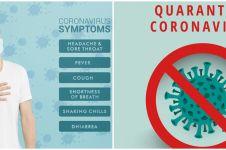 Ciri-ciri gejala corona hari demi hari, perlu kamu waspadai