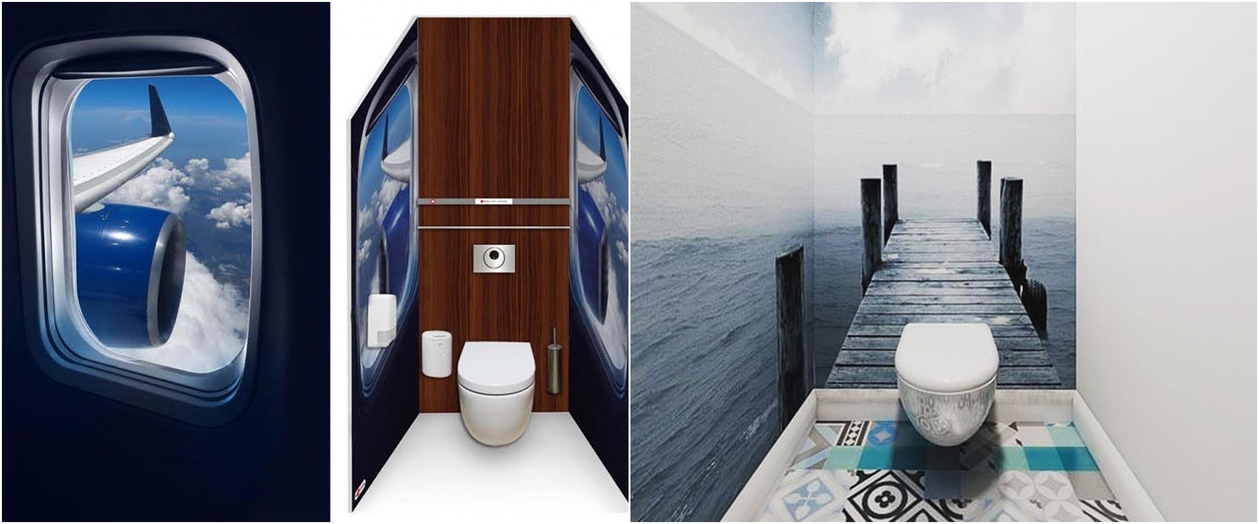 10 Desain toilet ini unik dan artistik banget, keren pol