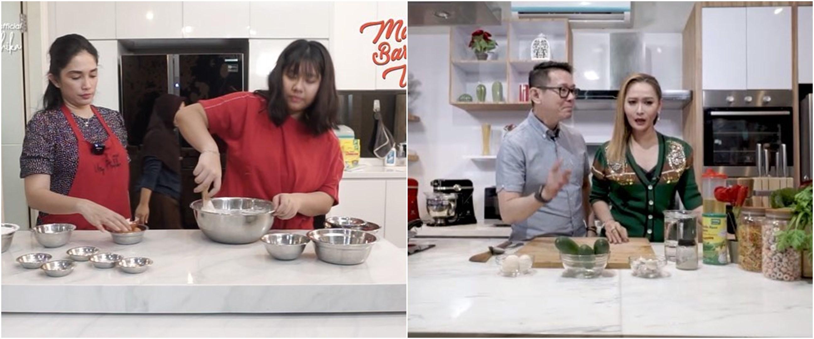 Tutorial memasak ala 5 seleb saat karantina ini simpel & bisa dicoba