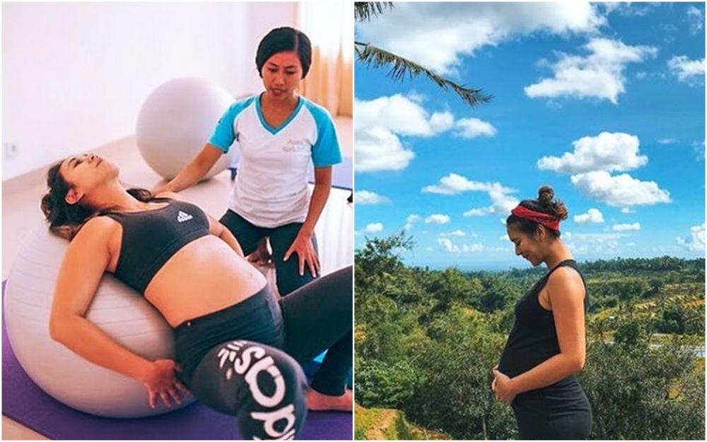 Seleb hamil jaga kesehatan  © 2020 brilio.net