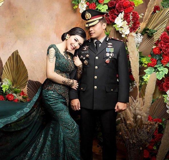 potret Rica Andriani istri mantan Kapolsek Kembangan © 2020 instagram.com
