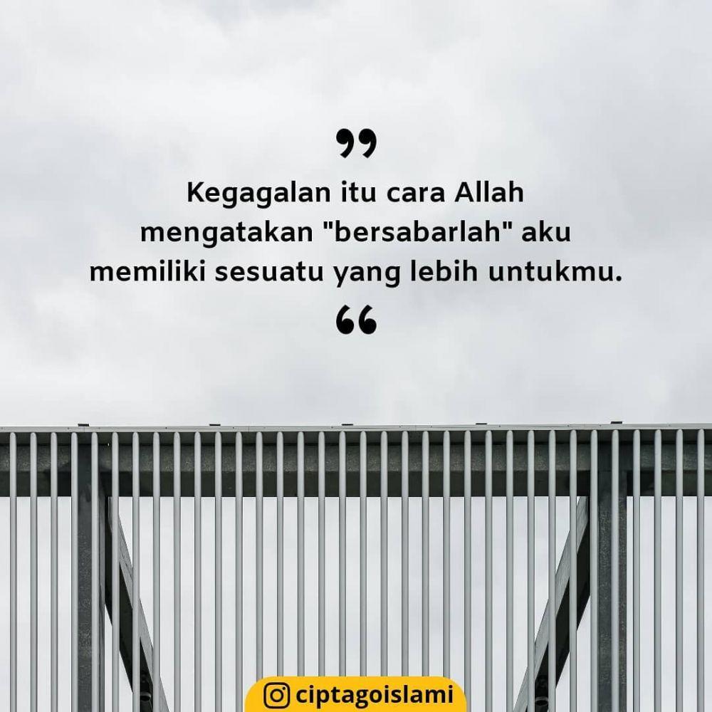mutiara islam tentang kesabaran © 2020 Instagram/@razha.co ; Instagram/@ceritaharianmuslimah