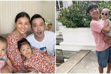 9 Potret keluarga Ruben di rumah saja, bikin video lucu bareng