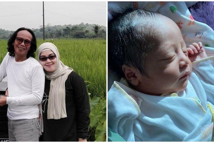 6 Potret Tampan Bayi Mandra Yang Baru Lahir Curi Perhatian