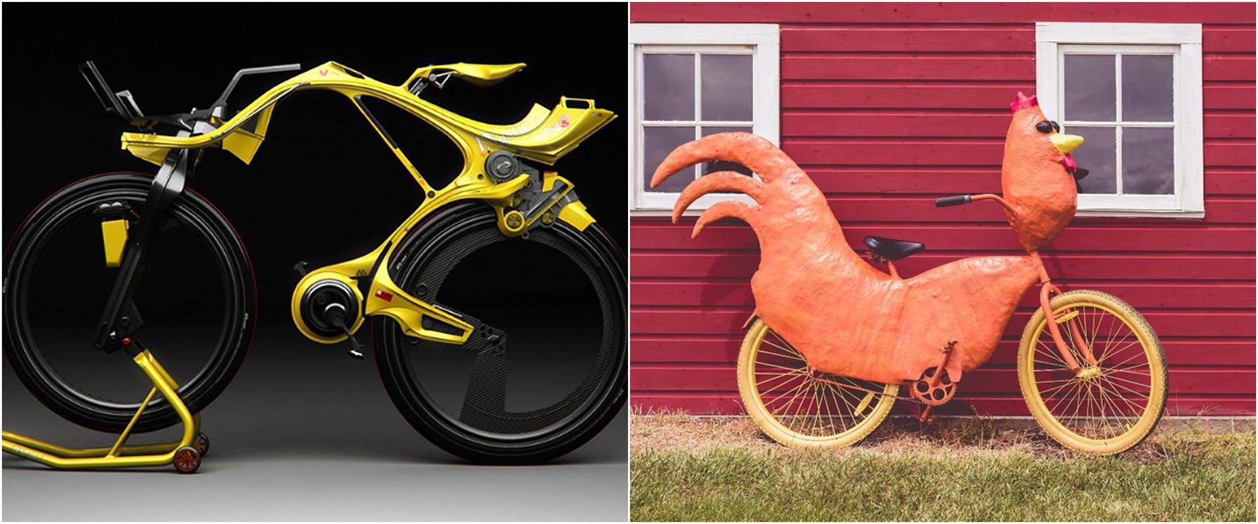 13 Modifikasi sepeda ini antimainstream dan keren, ada mirip ayam