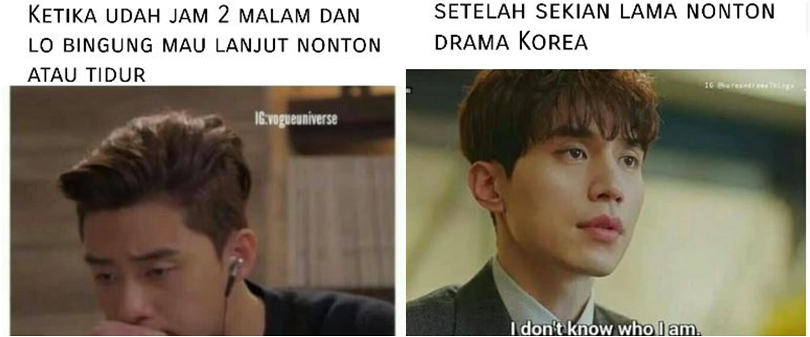 10 Meme kocak keluh kesah pencinta K-Drama, bikin senyum tipis