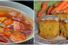 7 Resep olahan wortel yang enak, mudah, dan sederhana