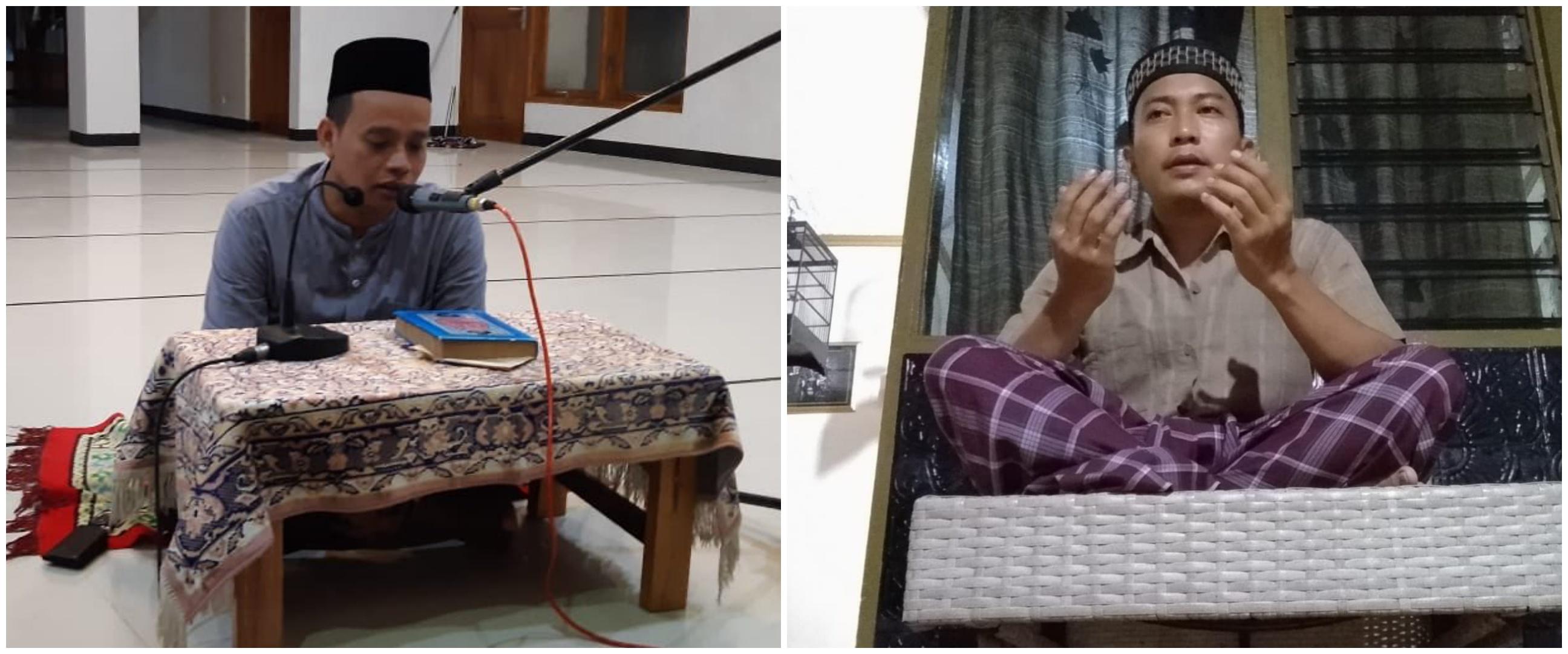 Viral potret physical distancing warga saat tahlilan, cegah corona