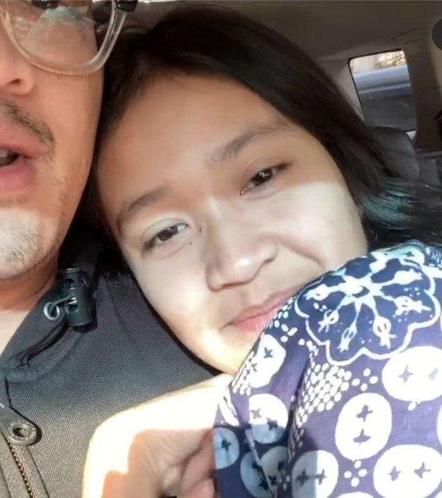 Potret kedekatan Ferry Maryadi dan putrinya  Instagram
