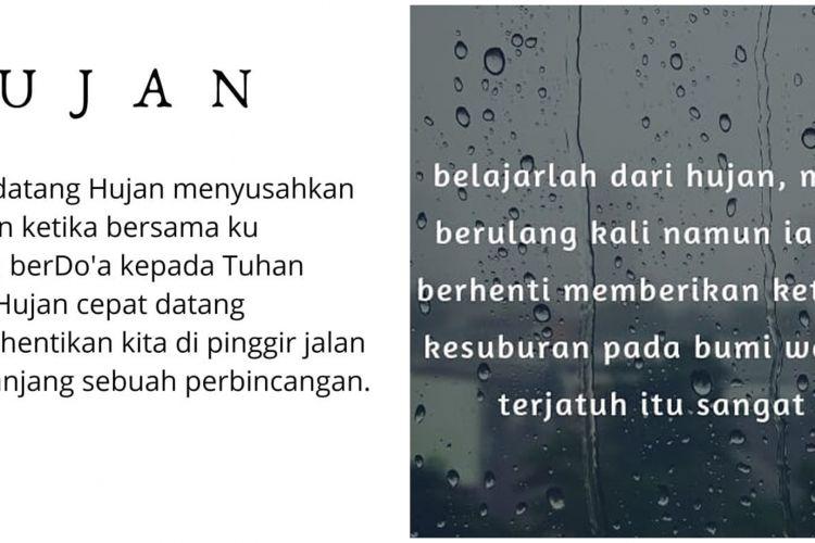 40 Kata Kata Mutiara Tentang Hujan Puitis Dan Penuh Makna