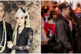 Foto editan 7 seleb Tanah Air bareng aktor Korea, kocak