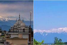 10 Penampakan puncak Himalaya saat India lockdown, tampak dari 230 km
