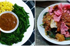 7 Resep pecel sayur yang enak, sederhana, dan mudah dibuat