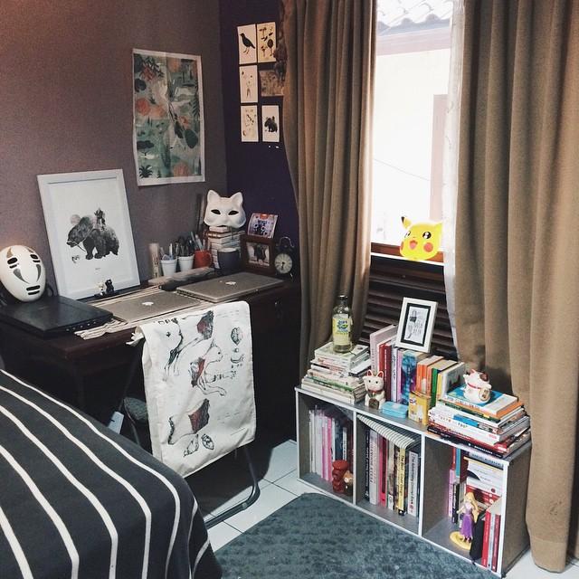 Transformasi ruang kerja Naela Ali © 2020 brilio.net