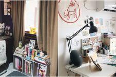 7 Potret transformasi ruang kerja ilustrator Naela Ali, bisa ditiru