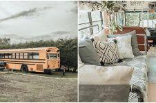Bus tua ini disulap jadi rumah, 10 hasil potretnya memukau
