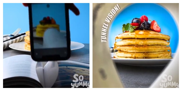 Trik fotografi kuliner pakai kamera HP Twitter/@awkwardgoogle