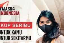 3 Fakta gerakan #Mask4Indonesia, aksi berbagi sekaligus membantu UMKM