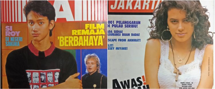 15 Potret seleb jadi cover majalah zaman dulu, bikin nostalgia