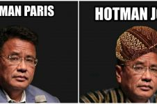 8 Foto editan Hotman Paris sesuai dengan nama kota, kocak abis