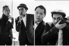 10 Foto kenangan Glenn Fredly dan Trio Lestari, persahabatan sejati