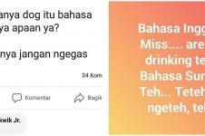 10 Status FB lucu salah bahasa ini bikin tepuk jidat