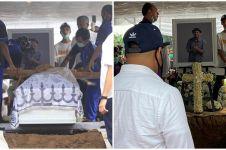 11 Potret suasana pemakaman Glenn Fredly, penuh haru