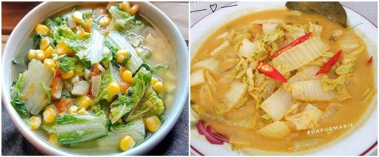 10 Resep olahan sayur sawi, lezat, sehat, dan mudah dibuat