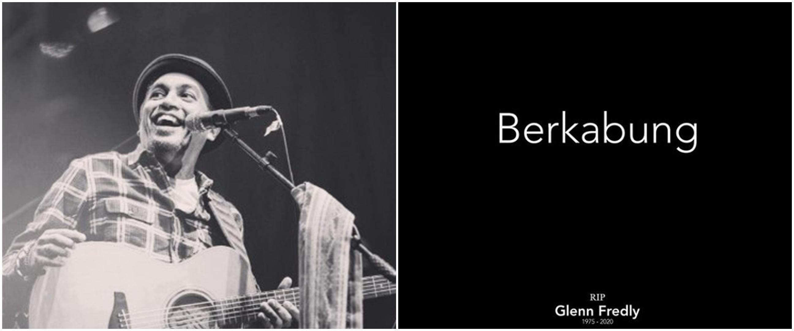 Berkabung untuk Glenn Fredly, 7 musisi kompak unggah foto hitam