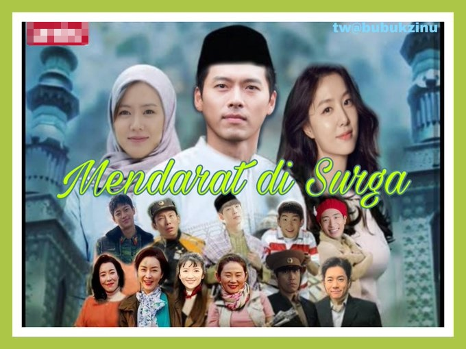 editan poster k-drama versi Ramadhan berbagai sumber