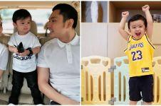 Biar betah di rumah, anak Sandra Dewi dihadiahi mesin basket