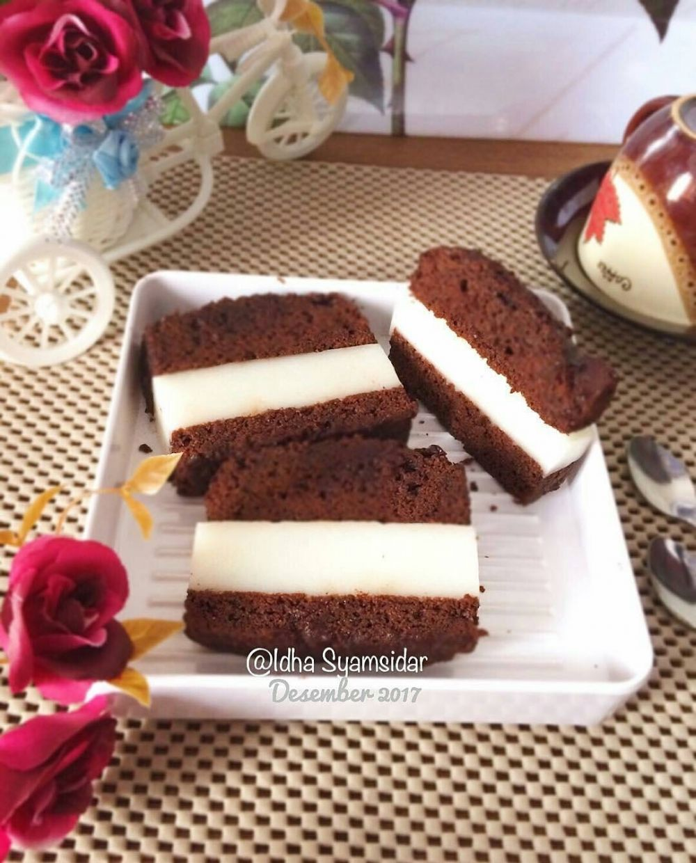 resep puding brownies instagram