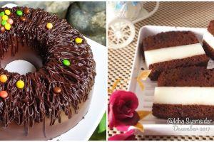 12 Resep puding brownies spesial, enak, lembut, dan praktis
