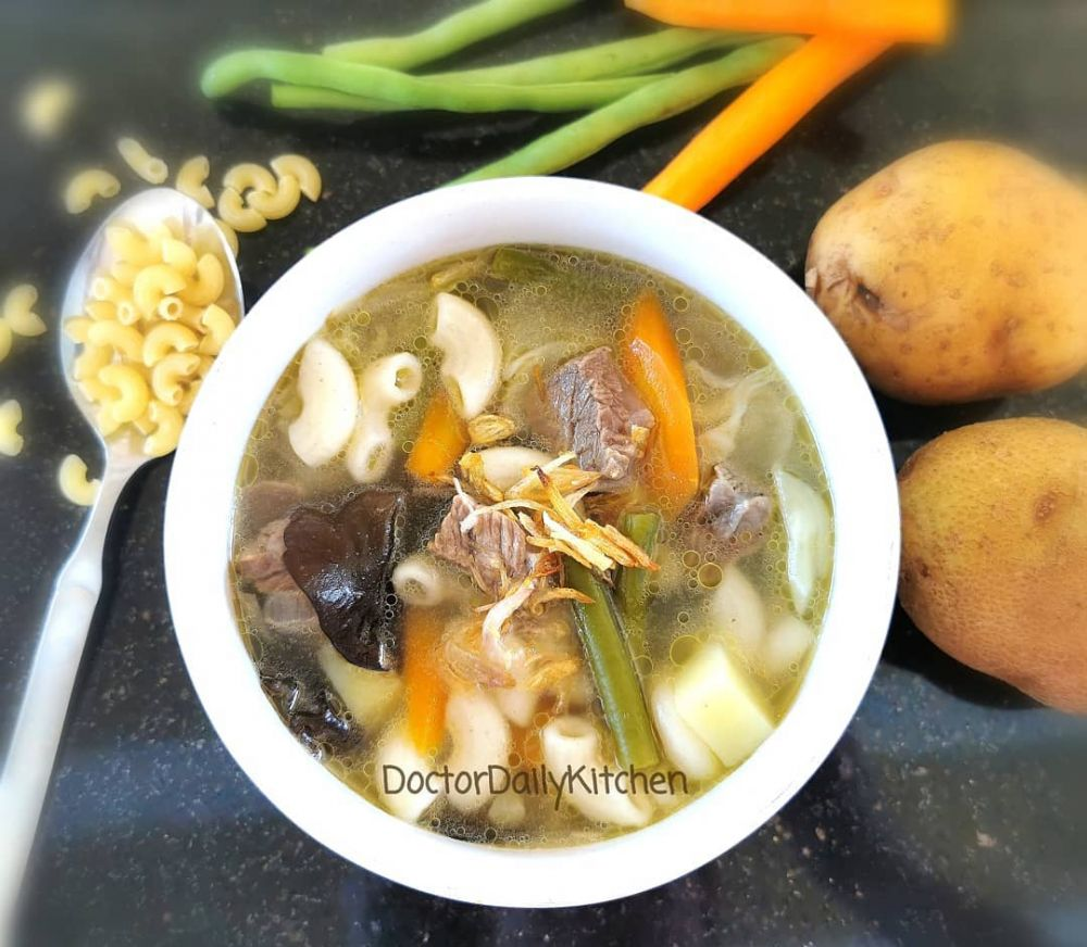 9 Resep sup bening © 2020 Instagram/@idemasakyuk ; Instagram/@santhy742
