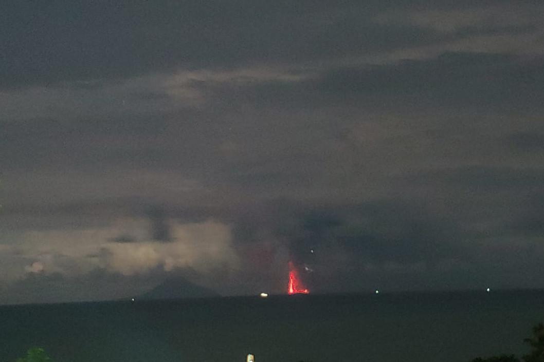 PVMBG sebut dentuman terdengar di Jakarta bukan erupsi Anak Krakatau