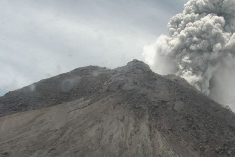 4 Gunung di Indonesia erupsi bersamaan, ini penjelasan PVMBG