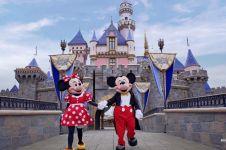 Rumahkan 43 ribu karyawan, Disneyland akan jamin tunjangan