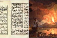 5 Fakta Syair Lampung Karam tentang letusan Gunung Krakatau 1883