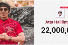 22 Juta subscribers, Atta Halilintar bagikan sembako ke ojek online