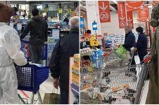 Alasan keamanan, 10 atribut pembeli di supermarket ini kocak abis