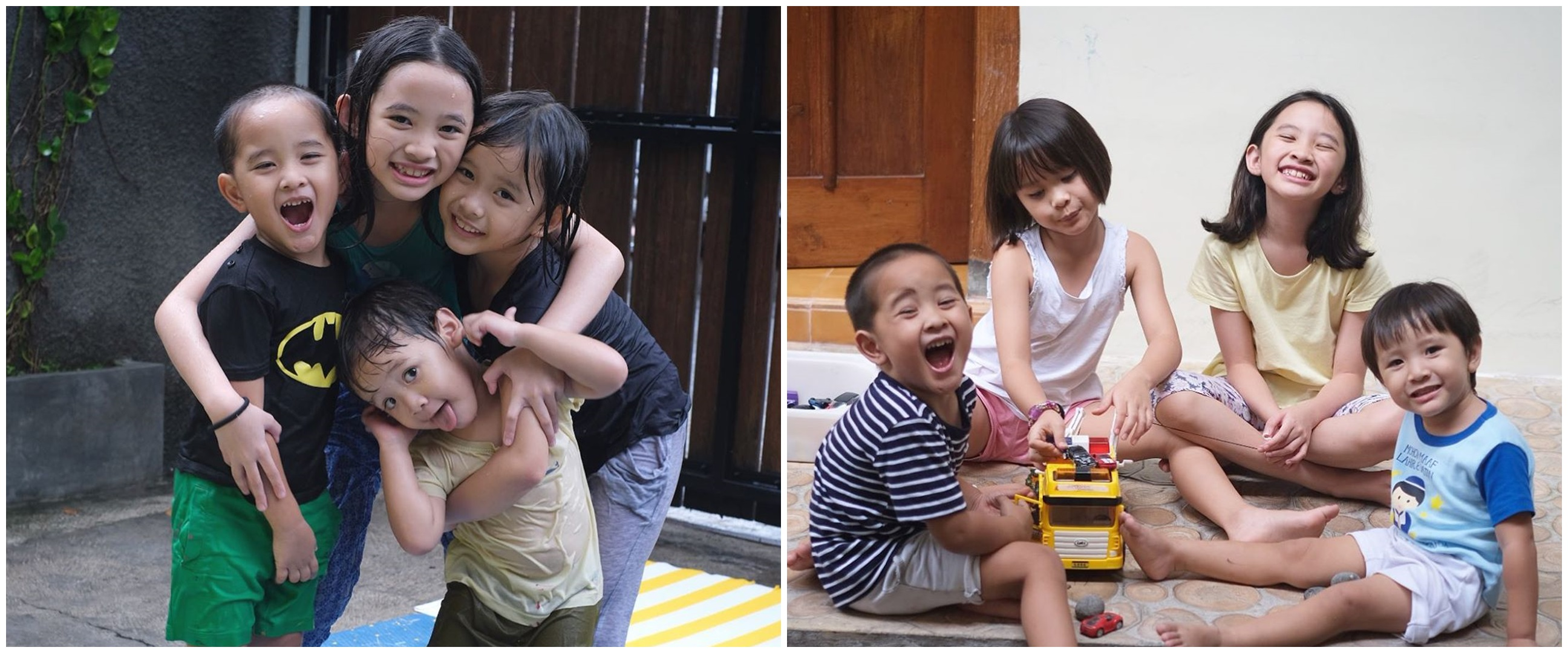 Dibuatkan short movie, ini 10 potret kompak anak Zaskia dan Hanung
