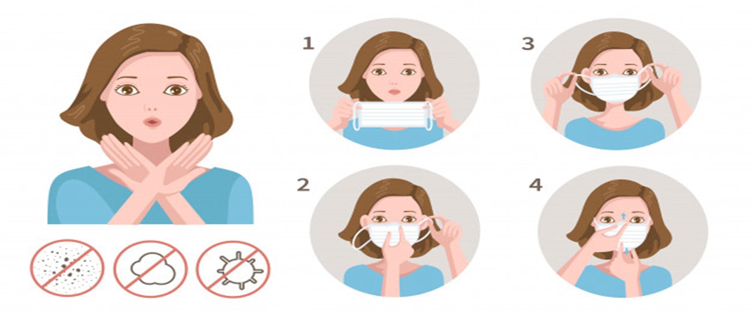 4 Kesalahan sering dilakukan saat memakai masker, wajib dihindari
