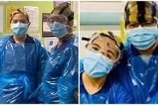 Kisah perawat terkena corona usai kenakan plastik untuk APD
