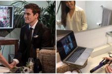 Viral wanita sewa penata rambut virtual untuk menikah saat corona