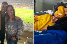 12 Potret Neymar dan Nadine Gonçalves sang ibu, lengket abis